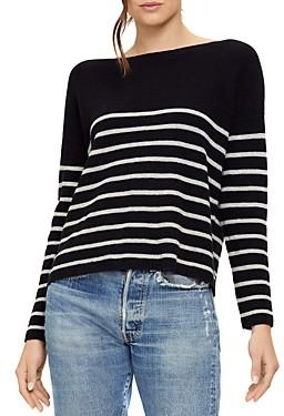 Michael Stars Joss Striped Boatneck Sweater
