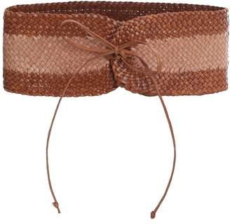 Zimmermann Woven Wide Waist Belt