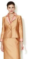 Carolina Herrera Scuba Duchess Short Jacket