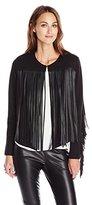 Velvet by Graham & Spencer Women's Fringe Jacket
