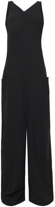 Rick Owens Wool-crepe Wide-leg Jumpsuit