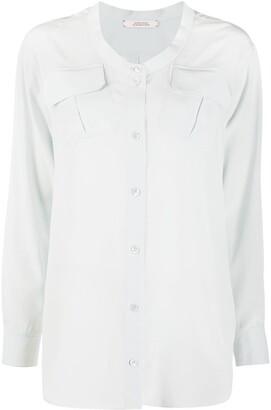 Dorothee Schumacher Fluid Volumes silk blouse