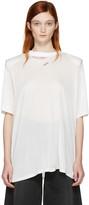 Off-White White Shoulder Pad T-shirt