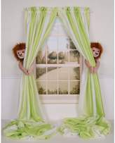Curtain Critters ALBNLN130909SET Plush Safari Lion Curtain Tieback Set- 2