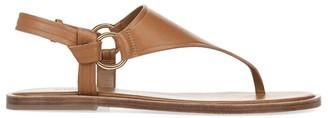 Vince Pharis Slingback Leather Thong Sandals