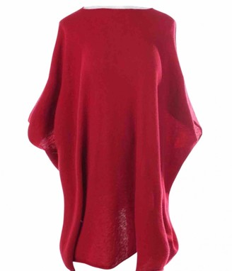 The Row Red Cashmere Knitwear