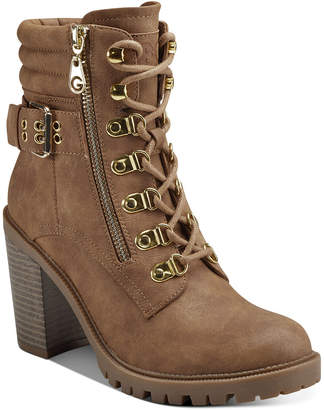 G by Guess Jaylee Combat Booties Women Shoes