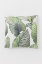 H&M Patterned Cushion Cover - White