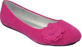 Fuchsia Flower Ballet Flat