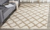 Safavieh SGD258B-28 Dallas Shag Collection and Beige Runner