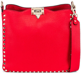 Valentino Small Hobo in Rouge Pur | FWRD