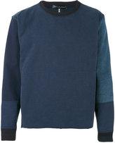 Longjourney patched sweatshirt - men - Cotton/Nylon - M