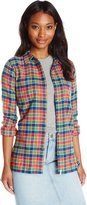 Woolrich Women's The Pemberton Plaid Flannel Shirt