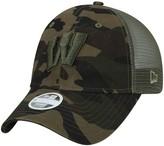 New Era Women's Camo Wisconsin Badgers Trucker 9TWENTY Adjustable Hat