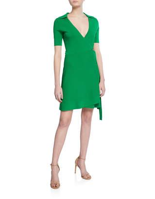 Diane von Furstenberg Zayla Short-Sleeve Wrap Dress