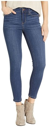 Liverpool Petite Abby Ankle in Silky Soft Stretch Denim in Elysian Dark (Elysian Dark) Women's Jeans