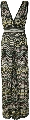 M Missoni Striped Jumpsuit
