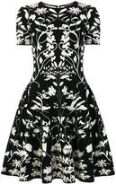 Alexander McQueen two-tone tulip dress