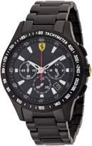 Ferrari Men's Sf105 0830046 Black Stainless-Steel Quartz Watch