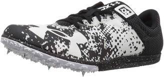 Under Armour Unisex-Adult XC Brigade Spike Athletic Shoe Black (001)/White 11.5