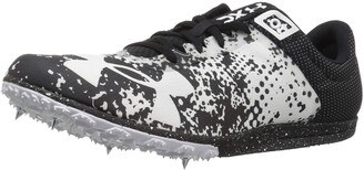 Under Armour XC Brigade Spike Athletic Shoe Black (001)/White 11.5