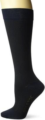 Gold Toe Women's Moderate Compression Herringbone Trouser Socks 1 Pair