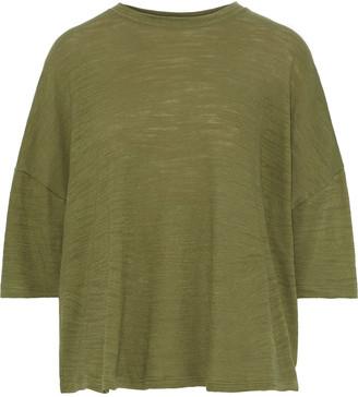 IRO Wavy Slub Cotton-jersey Top