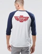 Brixton 3/4 Raglan T-shirt With Back Print