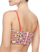 6 Shore Road by Pooja Willemstad Bustier Bikini Top