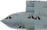 Eddie Bauer Dog Friends Flannel Sheet Set