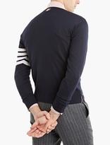 Thom Browne Navy Merino Sweater