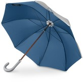Heating & Plumbing London British Umbrella Wood & Leather Grey/Mallard