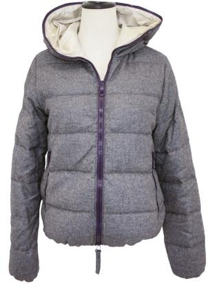 Duvetica Grey Cashmere Jackets