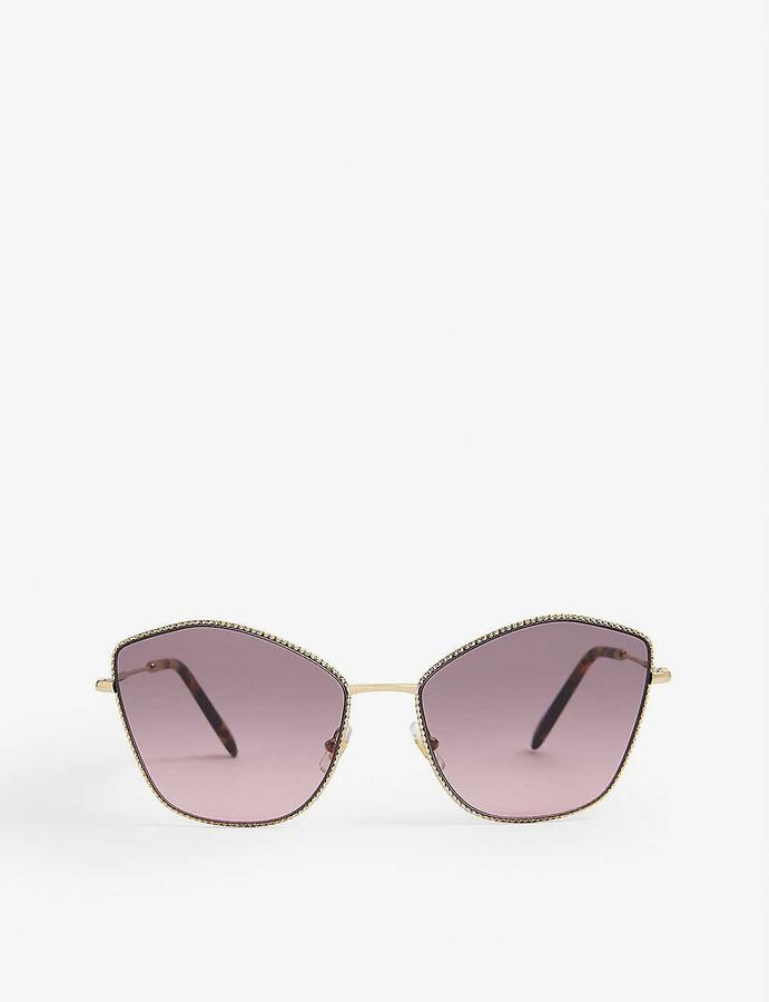 Miu Miu MU 60VS cat-eye metal sunglasses