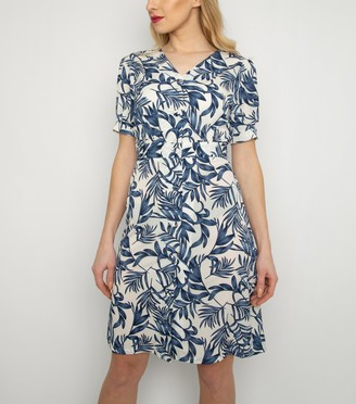 New Look Cutie London Leaf Print Dress