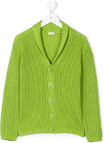 Il Gufo shawl collar cardigan - kids - Cotton - 4 yrs