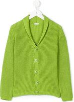 Il Gufo shawl collar cardigan - kids - Cotton - 6 yrs