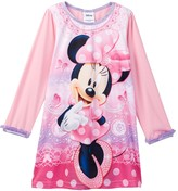 AME Minnie Mouse Lace Print Nightgown (Toddler Girls)