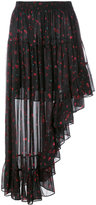 IRO floral print skirt - women - Polyester/Viscose - 38