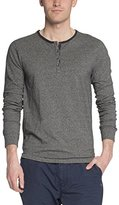 Scotch & Soda Mens Lond Sleeve Henley Shirt (XL)