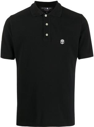 Hydrogen Logo Print Short-Sleeved Polo Shirt