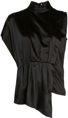 FEDERICA TOSI High Standing Collar Shirt