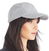 Sole Society Suedette Baseball Cap