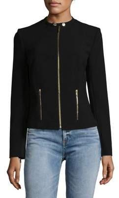 Calvin Klein Collarless Zip Jacket