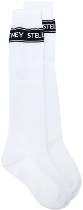 Stella McCartney Logo Intarsia Socks