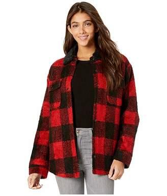 Miss Me Buffalo Plaid Jacket