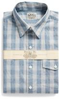 Ralph Lauren Slim Fit Indigo Checked Shirt