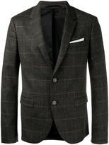 Neil Barrett two-button blazer - men - Polyamide/Polyester/Spandex/Elastane/Virgin Wool - 46