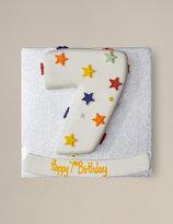 Marks and Spencer Stars Number Sponge Cake (Single Digit)