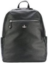 Vivienne Westwood logo pin backpack